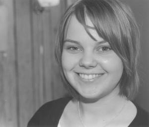 Hanna-Maija Saarinen håller ÅA:s fana högt ute i Europa. - 2002_08_saarinen