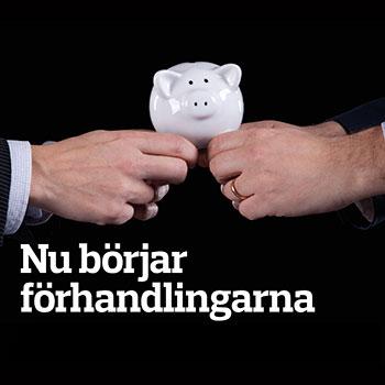 Bild på omslaget: Nu börjar förhandlingarna